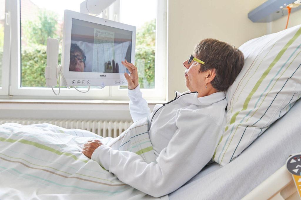 Modernste Technik in der Klinik