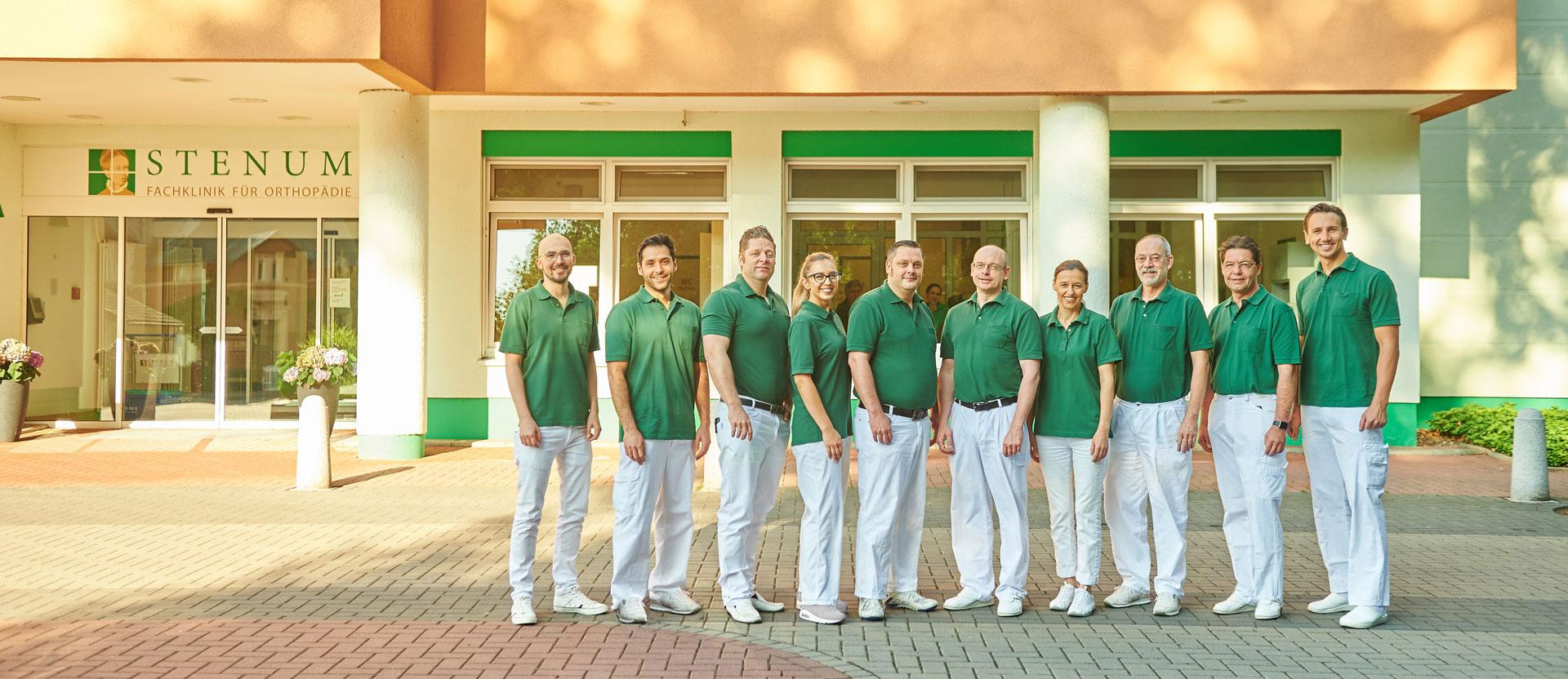 Ärzte der Fachklinik in Stenum